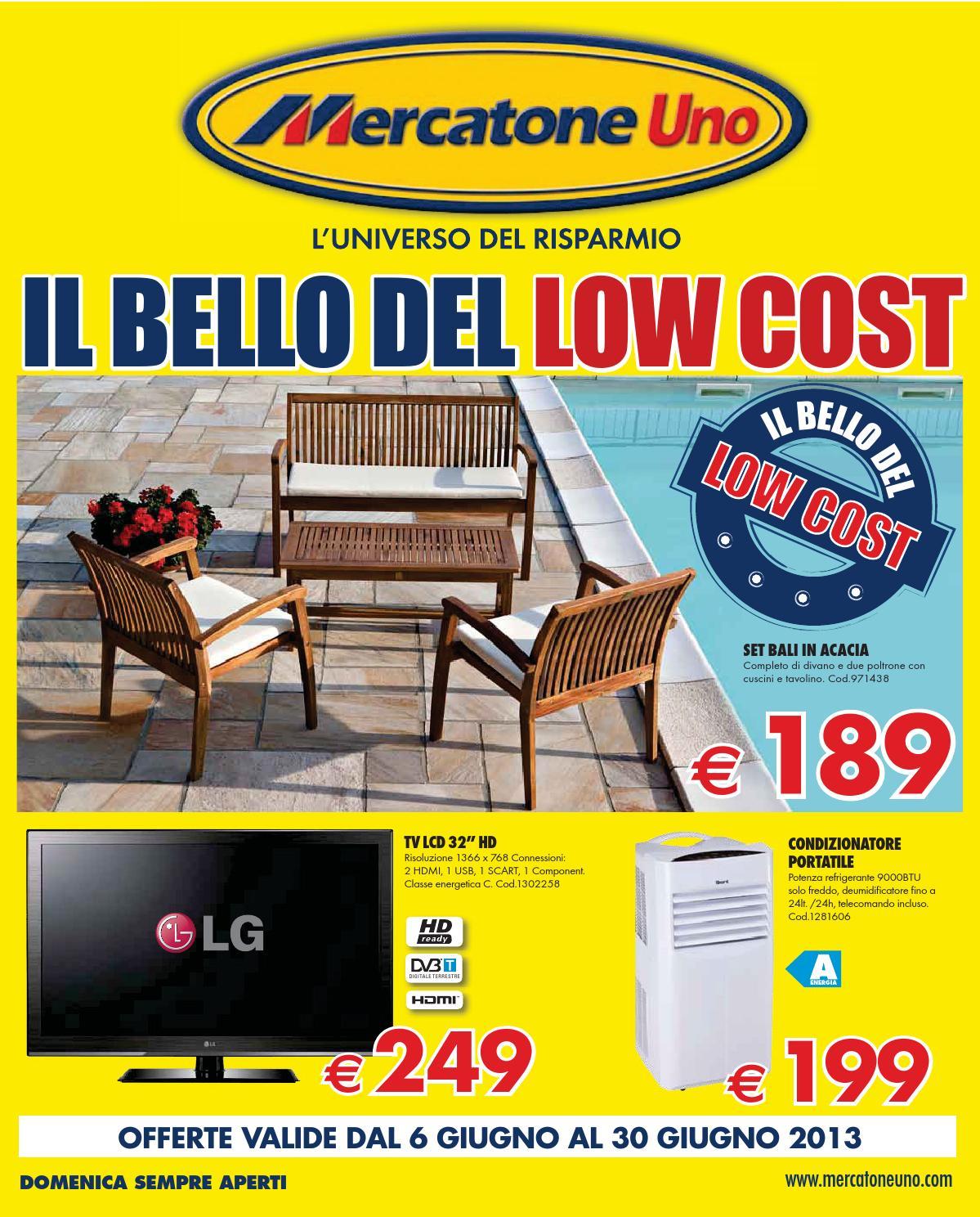 Mercatone Uno Tavoli Pieghevoli.Mercatone Uno Volantino 6 30 Giugno 2013 By Catalogopromozioni Com