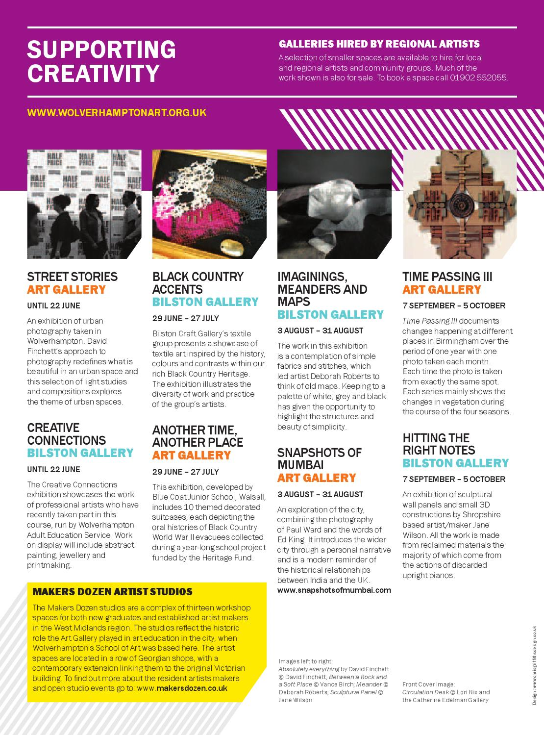 WAVE Exhibitions and Events Jun - Sept 2013 by Wolverhampton