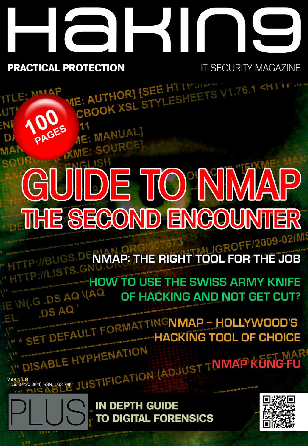 Guide to NMAP by Hakin9Magazine - issuu