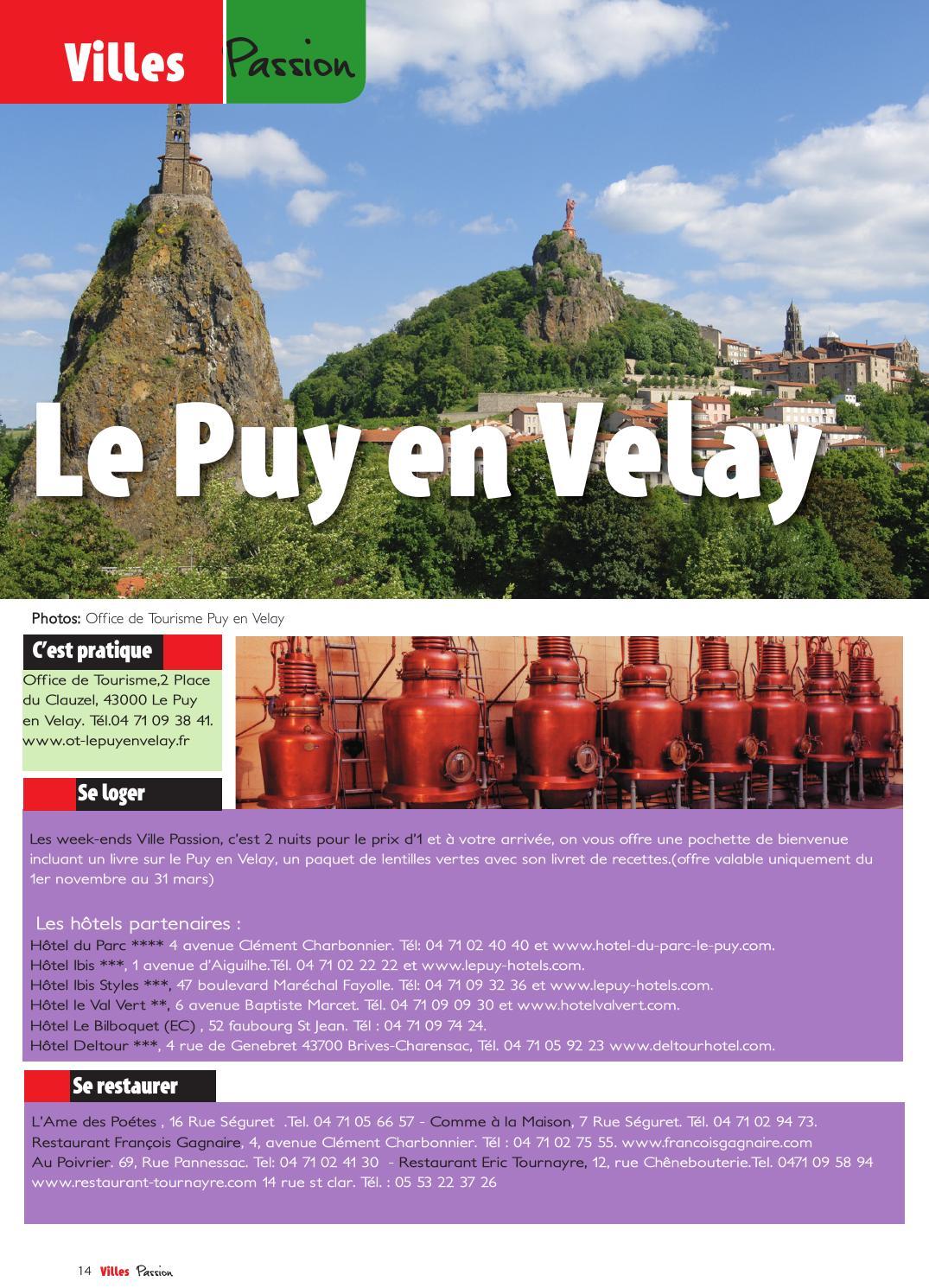 48h au puy en velay by issuu - Office du tourisme le puy en velay ...