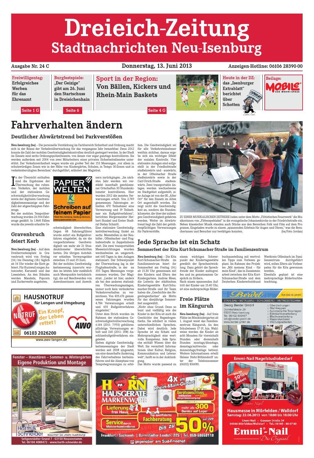 Dz Online 024 13 C By Dreieich Zeitungoffenbach Journal Issuu
