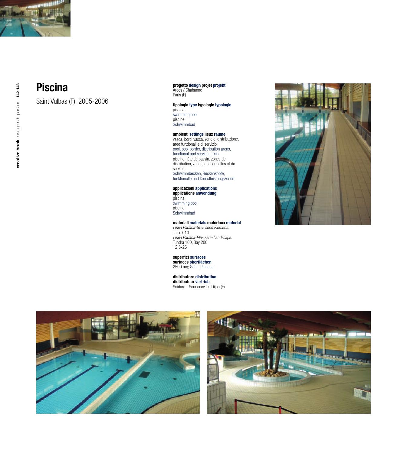 Creative book 6 by casalgrande padana s p a issuu for Casalgrande padana piscine
