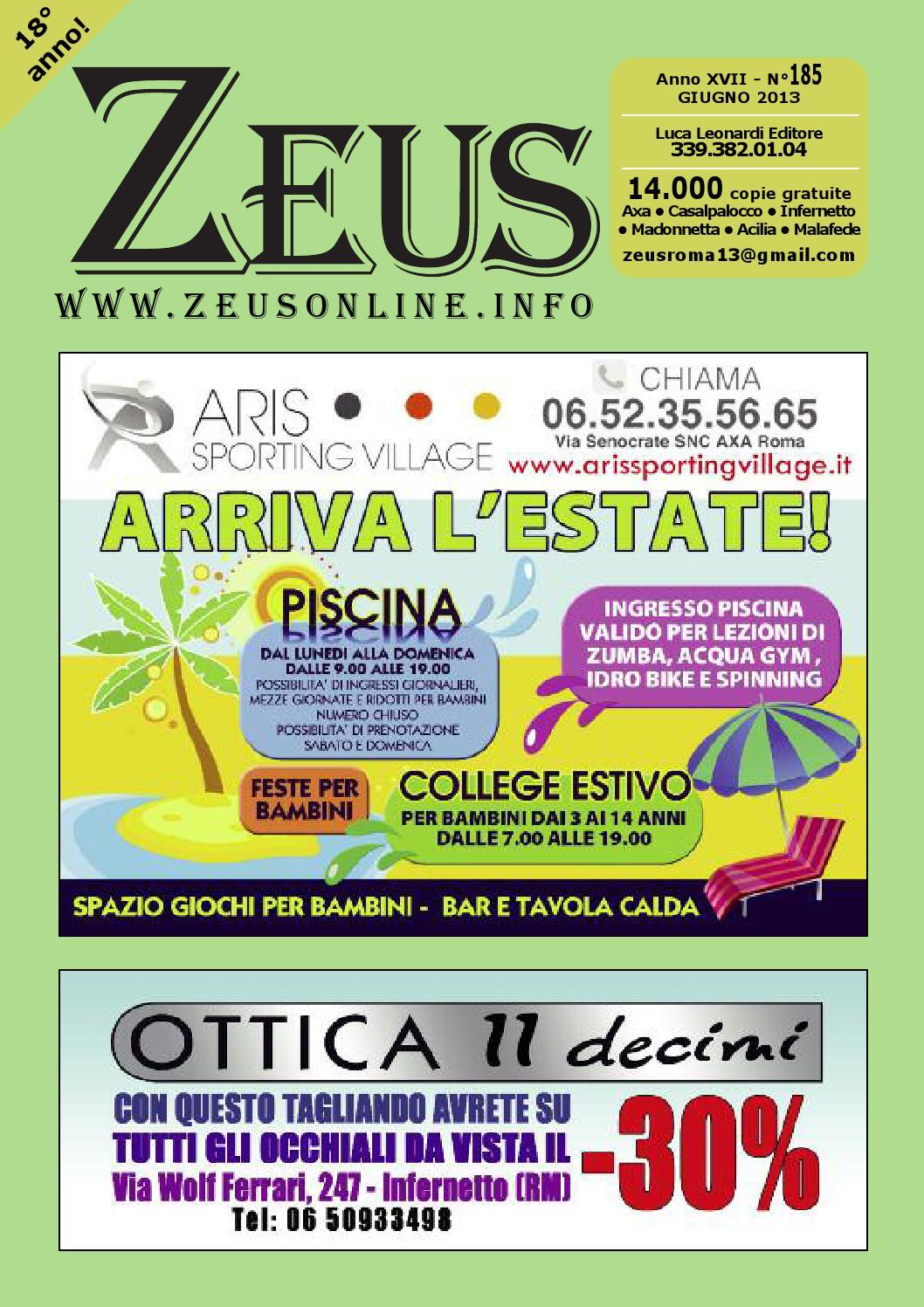185zeus by ZEUS - Mensile di informazione X Municipio Roma