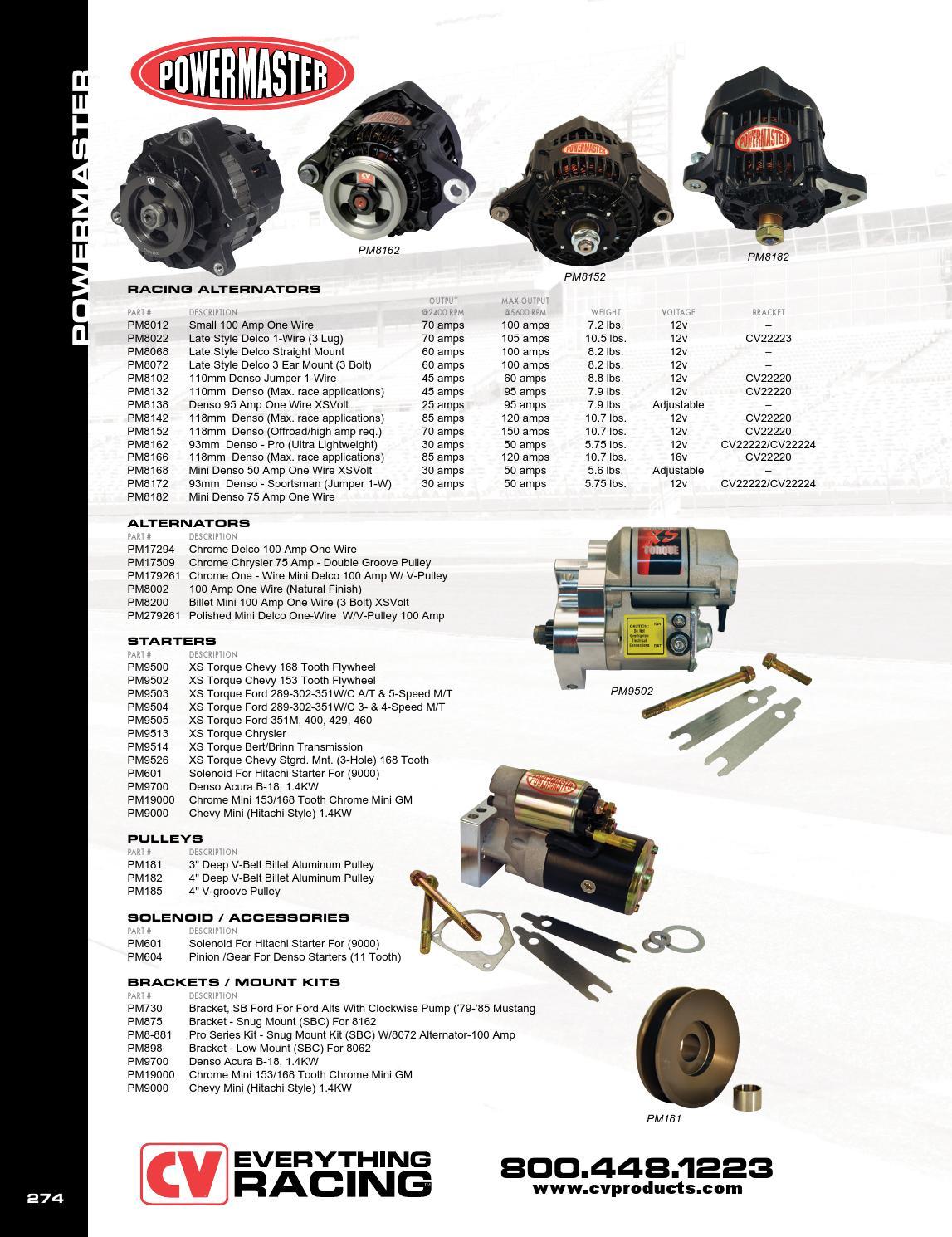 Denso 136 Amp Alternator Wiring 03 Bmw 745li Fuse Box 100 Gm Cv Products Catalog Volume 14 By Joshua Powers Issuu Page 274