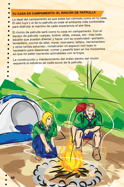 Manual scouts cap tulo vida al aire libre nudos y - Nudo para tendedero ...