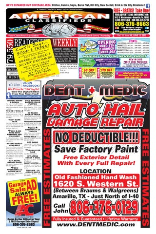 American Classifieds | Amarillo, TX | June 13, 2013 by