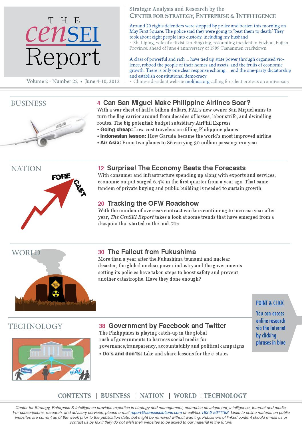 tcr volume 2 issue no 22 by the censei report issuu