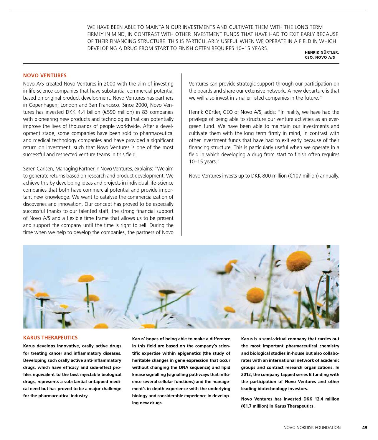 Novo Nordisk Foundation - Why and how? by Jesper Laursen - issuu