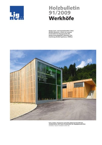 Holzbulletin 91/2009 By Lignum   Issuu