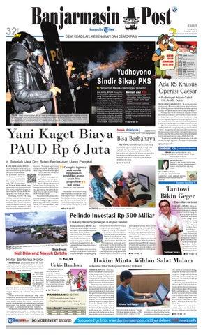 Banjarmasin Post edisi cetak Kamis 4906bc0f2e