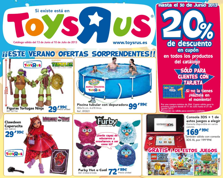 juguetes-de-verano-toysrus by Milyuncatalogos.com - issuu