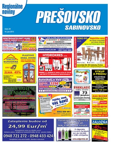 88392b5ef Presovsko 13-24 by presovsko presovsko - issuu
