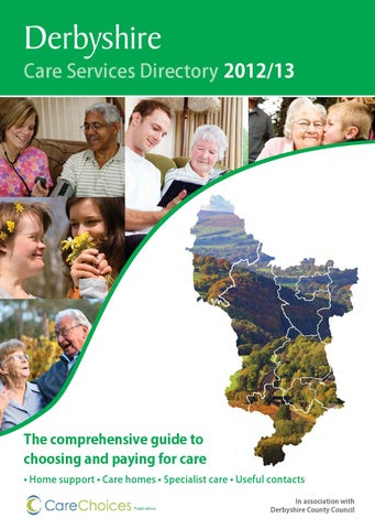 Derbyshire Care Services Directory 2012 13