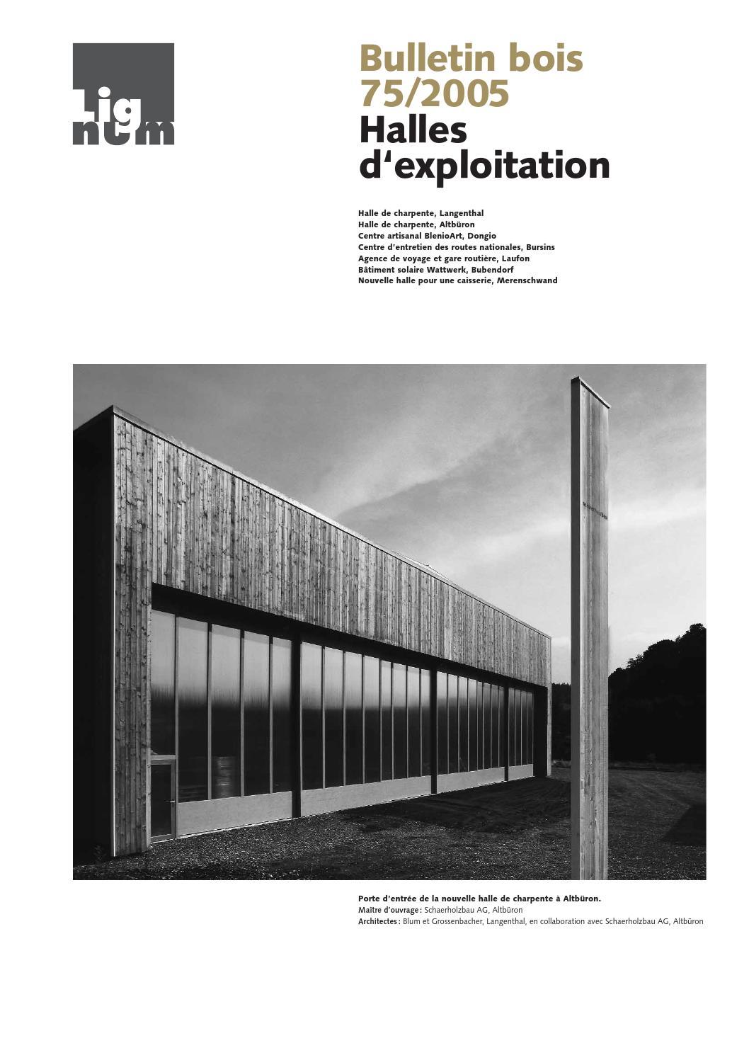 Bulletin bois 75 2005 by Lignum - issuu 5129bde3836f