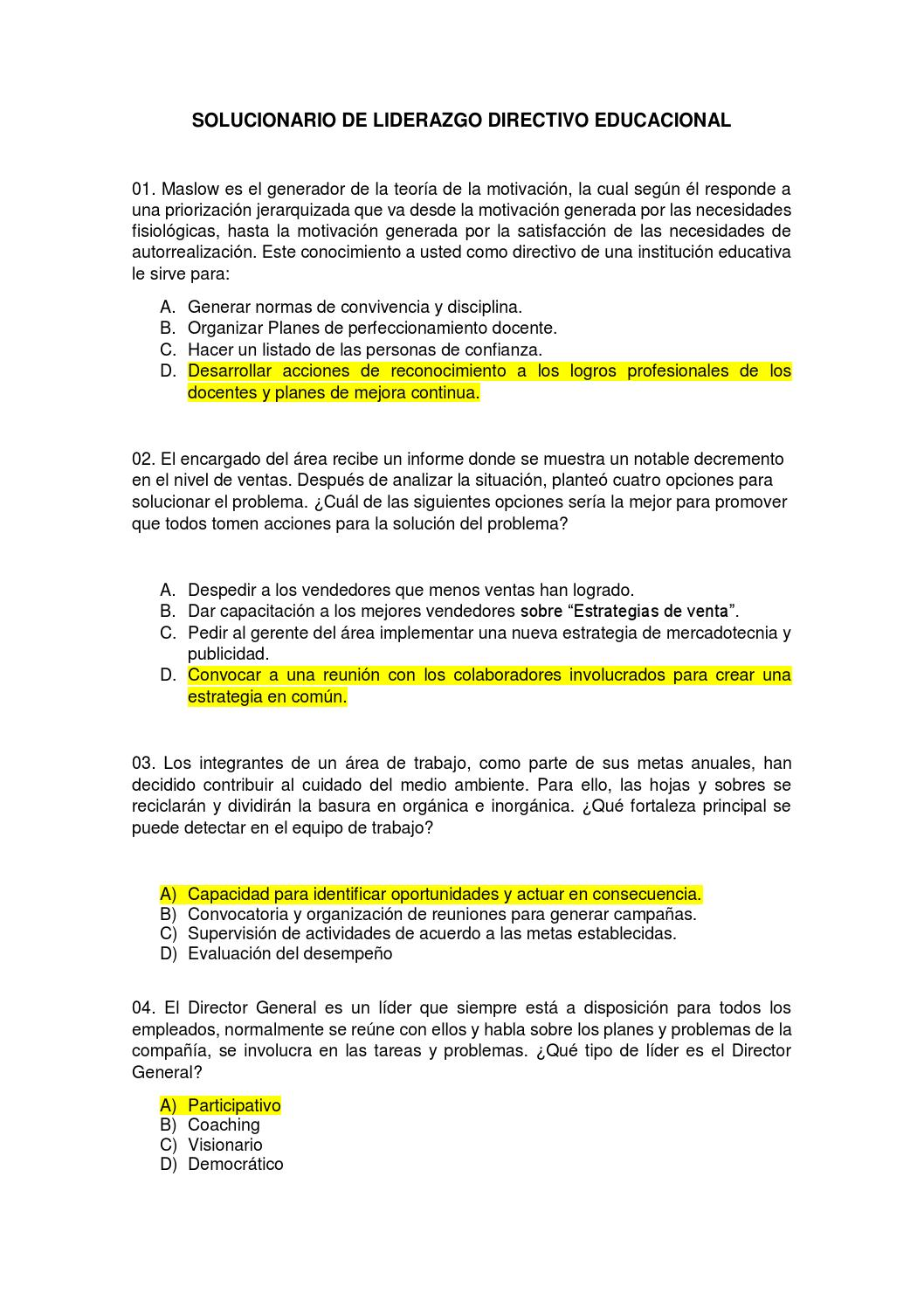 Liderazgo directivo educacional by CARLOS - issuu