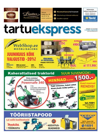 6c174b3da07 Tartu Ekspress, 13.06.2013 by Tartu Ekspress - issuu