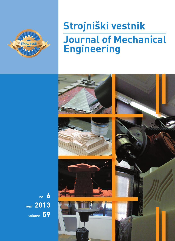 Journal Of Mechanical Engineering 2013 6 By Darko Svetak Issuu Paket Vanish 400 Gr Isi 2