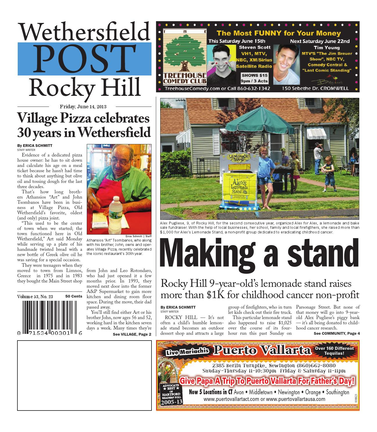 28d9357de97 Wethersfield Post - Rocky Hill Post 06-14-2013 by Art Department - issuu
