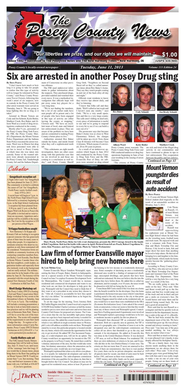 june 11 2013 the posey county news by the posey county news issuu rh issuu com