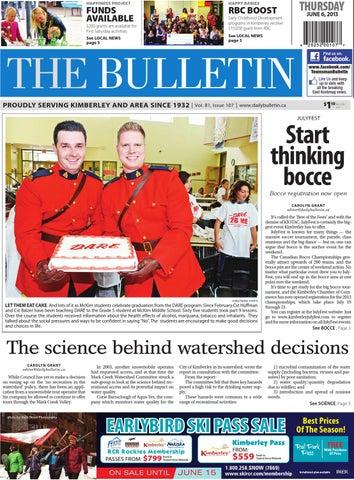 Kimberley Daily Bulletin, June 06, 2013