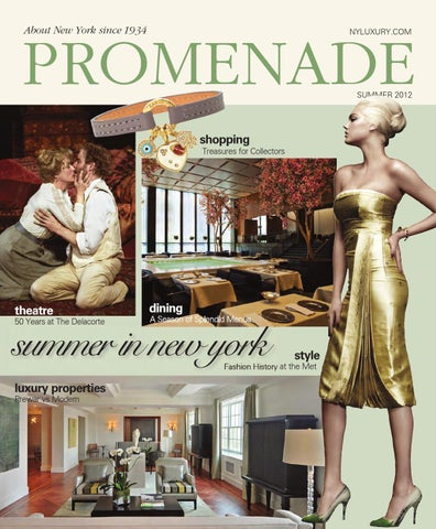 7b84ef50317180 Promenade - Summer 2012 by Promenade Magazine - issuu