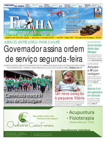1007 by Folha do Vale - issuu e023b8f38d8c1