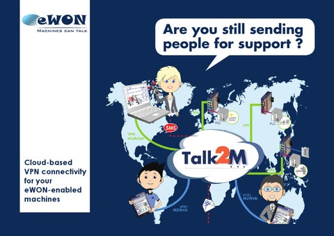 Talk2m Cloud-based remote access by eWON by Gerald Olivier