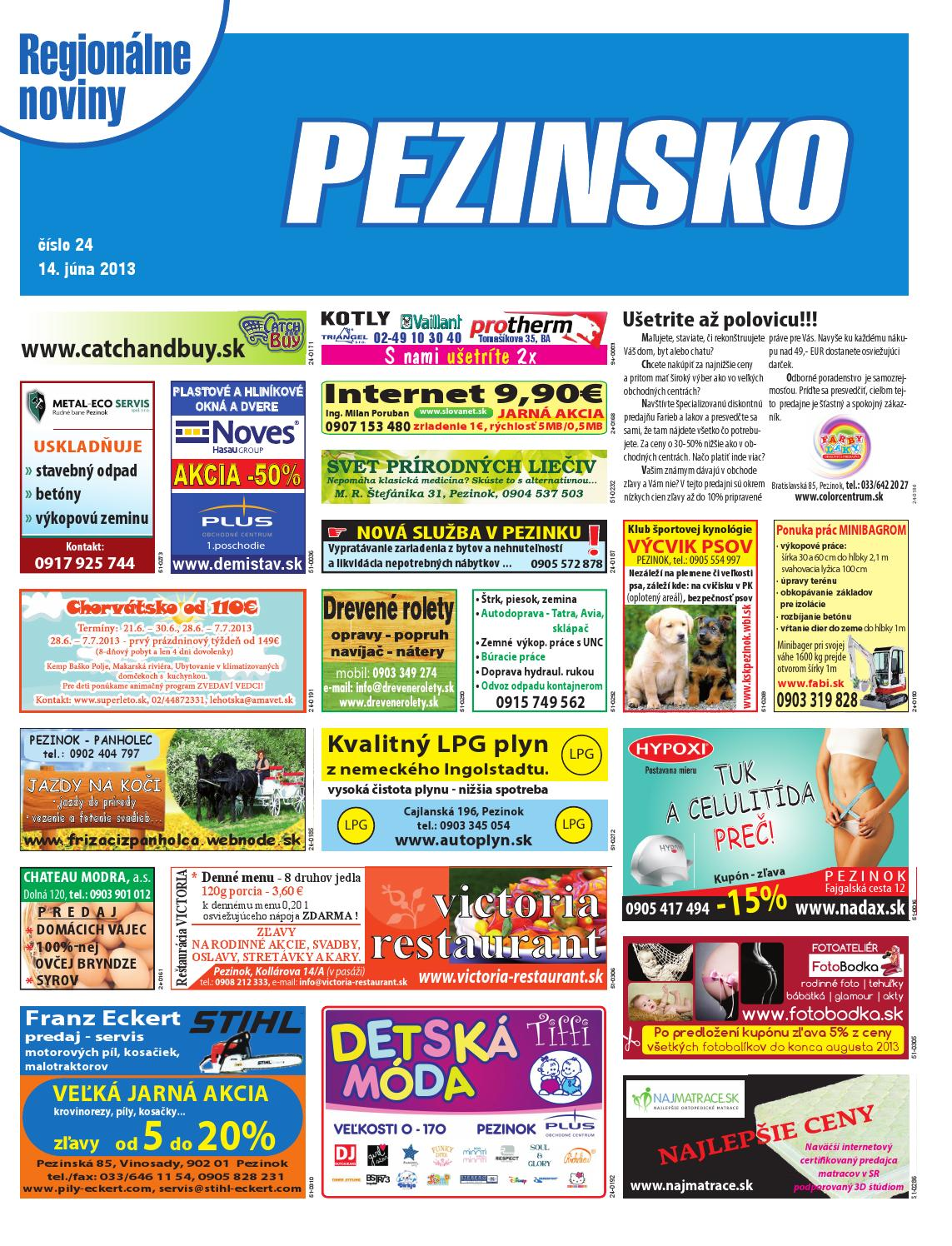 c13ac3edd Pezinsko 13-24 by pezinsko - issuu