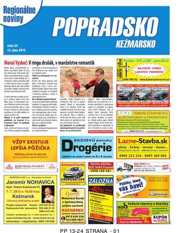 9805d8e8f Popradsko 13-24 by REGIONPRESS - Popradsko - issuu