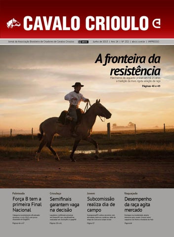 fb236302b7 Jornal Cavalo Crioulo - Junho 2013 by ABCCC ABCCC - issuu