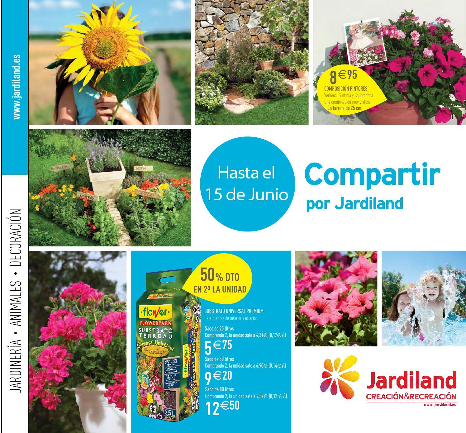 Catálogo Jardiland 10 De Mayo 15 De Junio 2013 By Jardiland España
