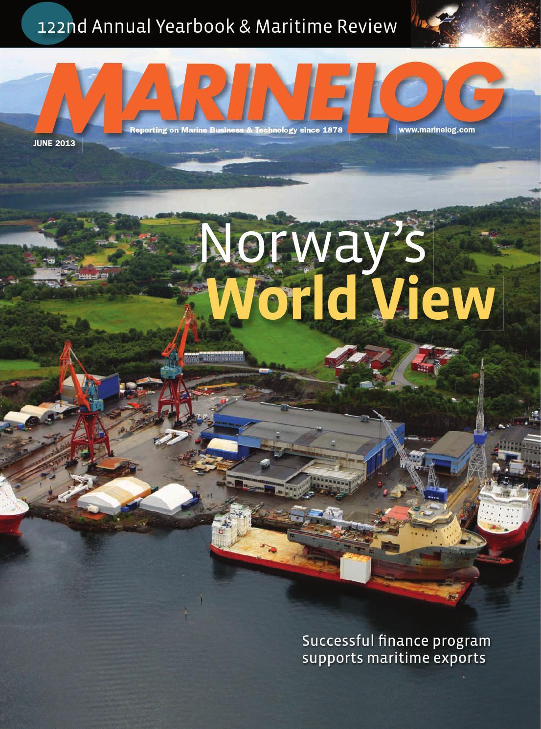 june 2013 marine log magazine by marine log