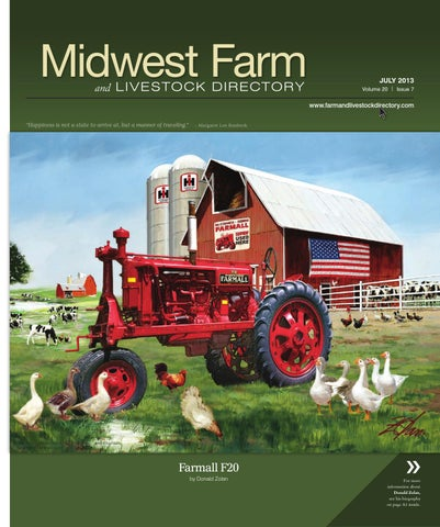 Midwest Farm And Livestock Directory | July 2013