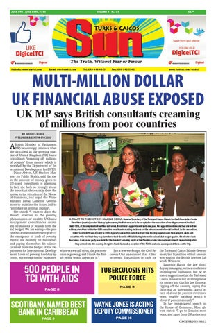 7f58462c3e7b3 VOLUME 9 ISSUE 22 by The SUN Newspaper - issuu