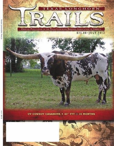 de3dca62e8 Texas Longhorn Trails by Texas Longhorn Trails Magazine - issuu