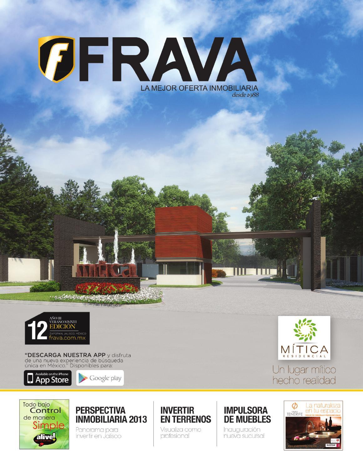 Frava 12 La Mejor Oferta Inmobiliaria De Jalisco By Frava  # Muebles Placencia Razon Social