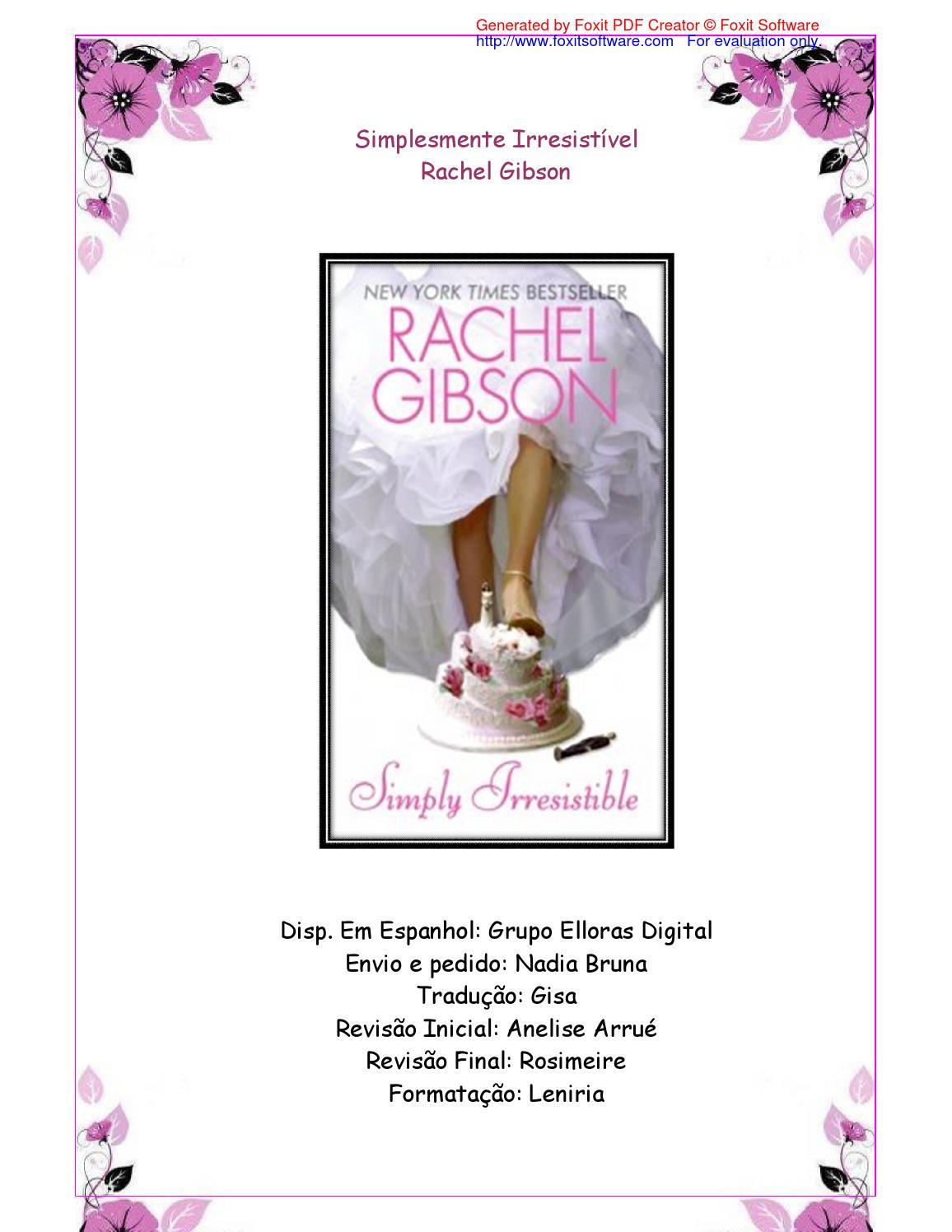 36fb2eb01b Rachel gibson simplesmente irresistivel by Claudia Buttelli - issuu