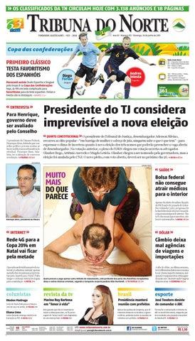 2d749e95ab Tribuna do Norte - 16 06 2013 by Empresa Jornalística Tribuna do ...