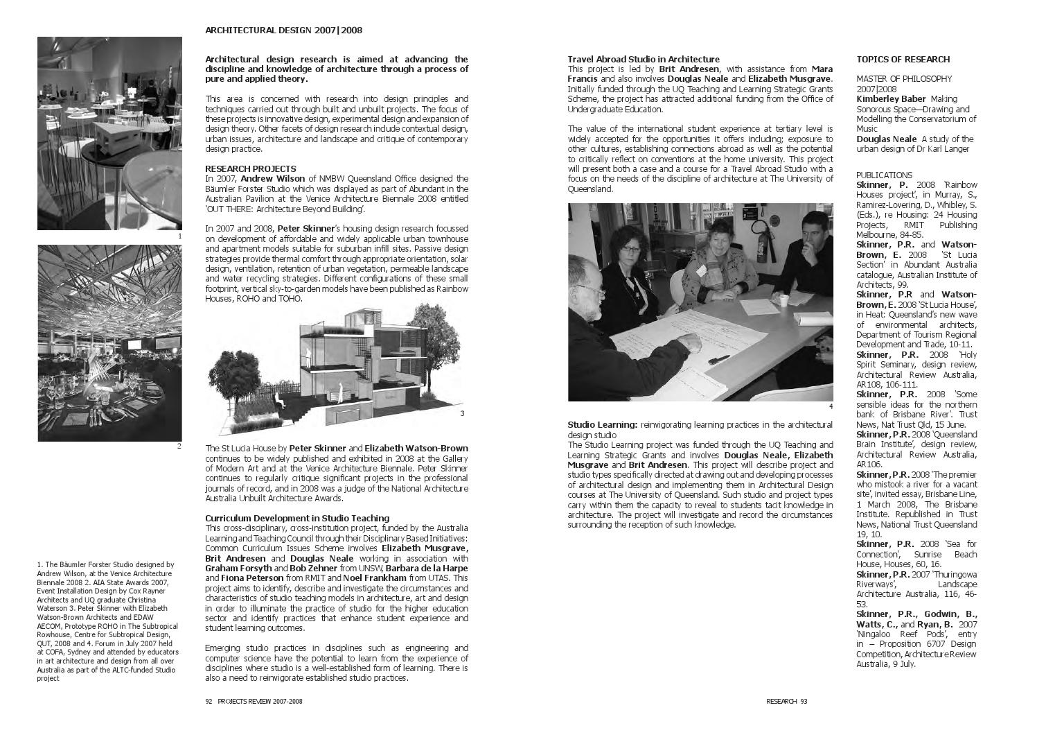 Pr 07 08 web by UQ Engineering, Architecture and Information