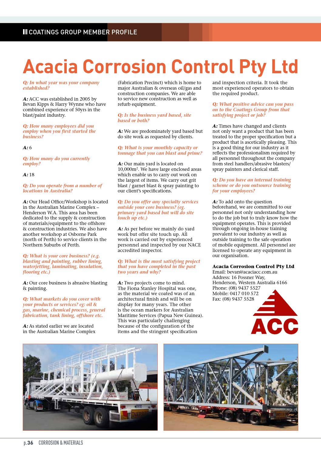 Corrosion & Materials June 2013 by Australasian Corrosion