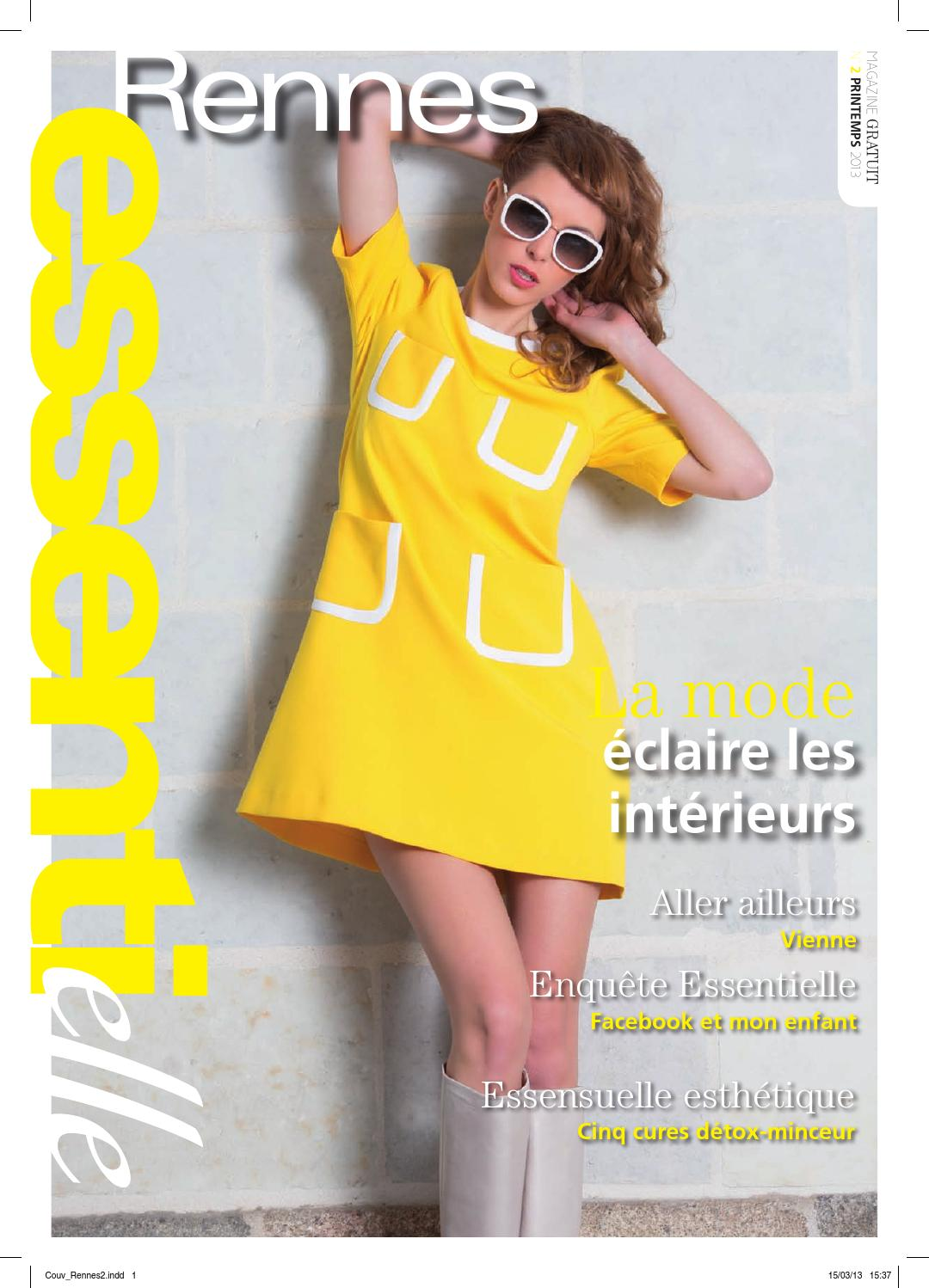 324e445c29c75 Essentielle magazine Rennes Printemps 2013 by Essentielle Mag - issuu
