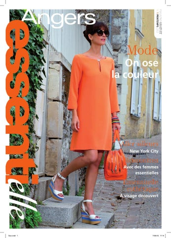 Essentielle Essentielle Magazine By By Angers Printemps 2012 Issuu Mag AxvqZA7wg