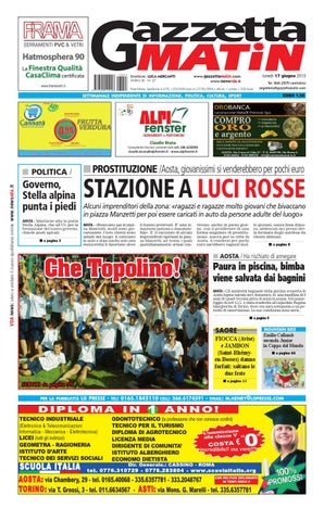 Gazzetta Matin del 17 giugno 2013 by Luca Mercanti - issuu dfa2b21b8b7