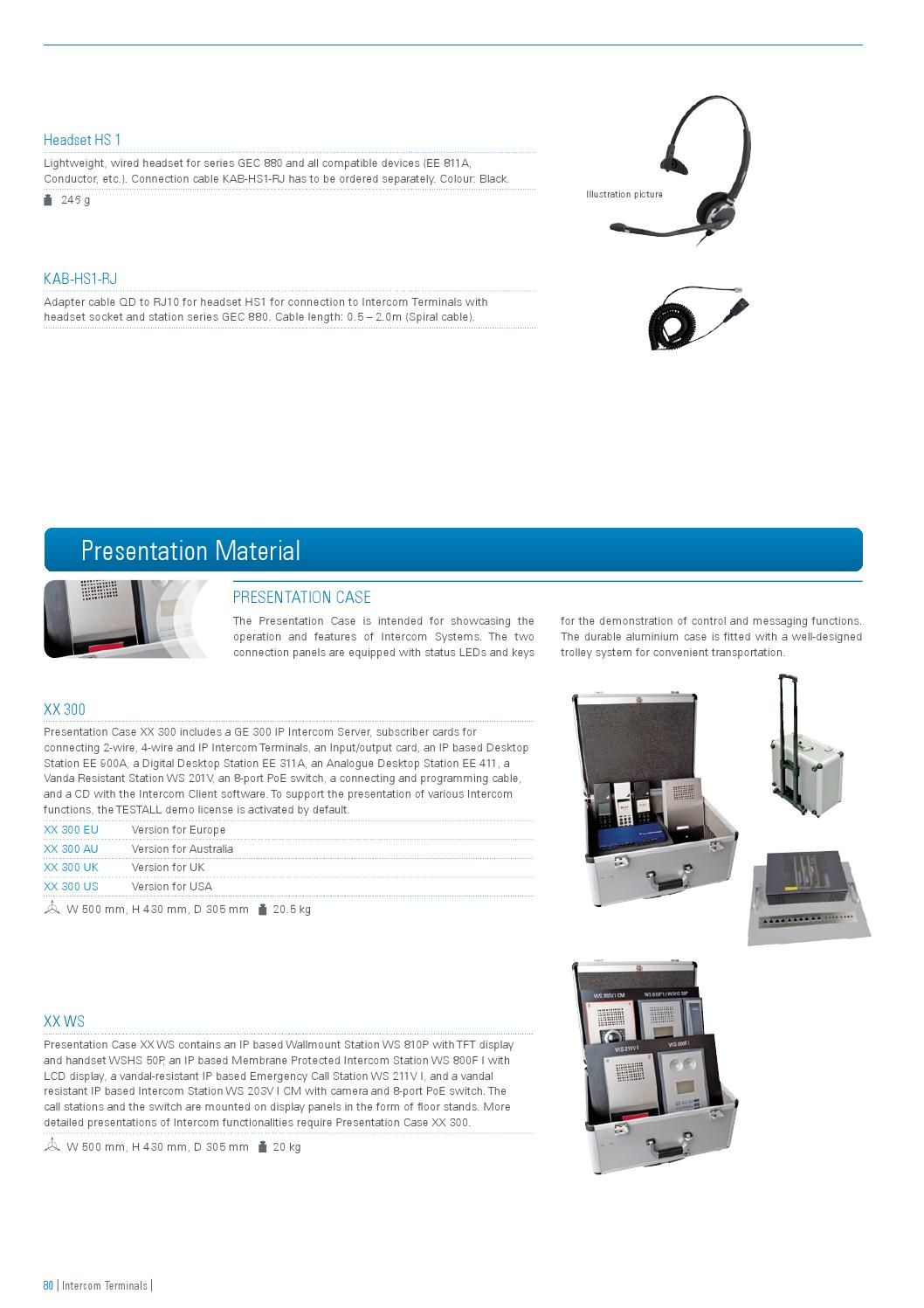 Commend Product Catalogue English By International Gmbh Issuu Rj10 Cable Wiring Diagram