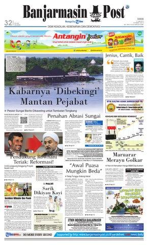 Banjarmasin Post edisi cetak Senin 8f55f80402