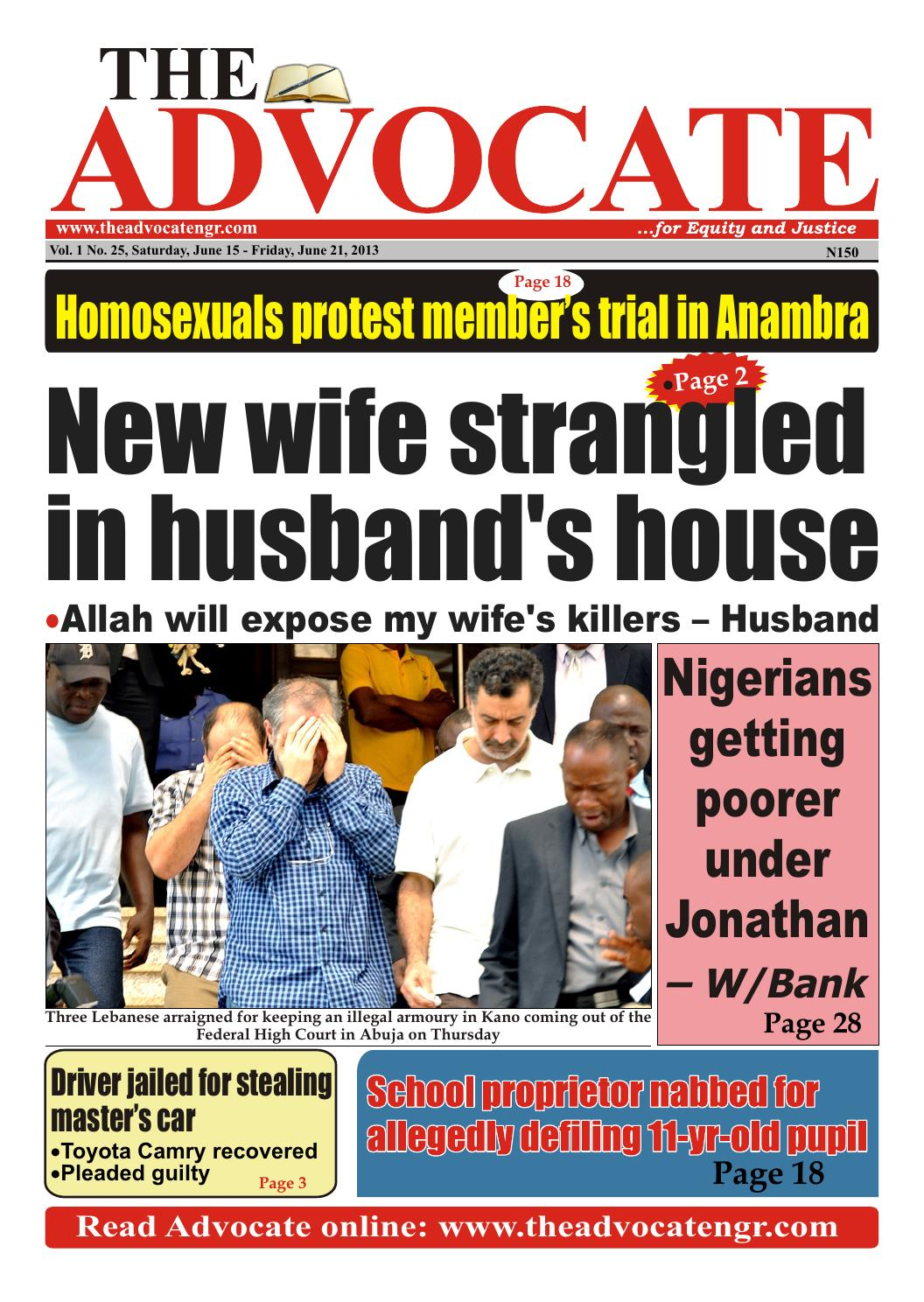 Oladipo diya wife sexual dysfunction