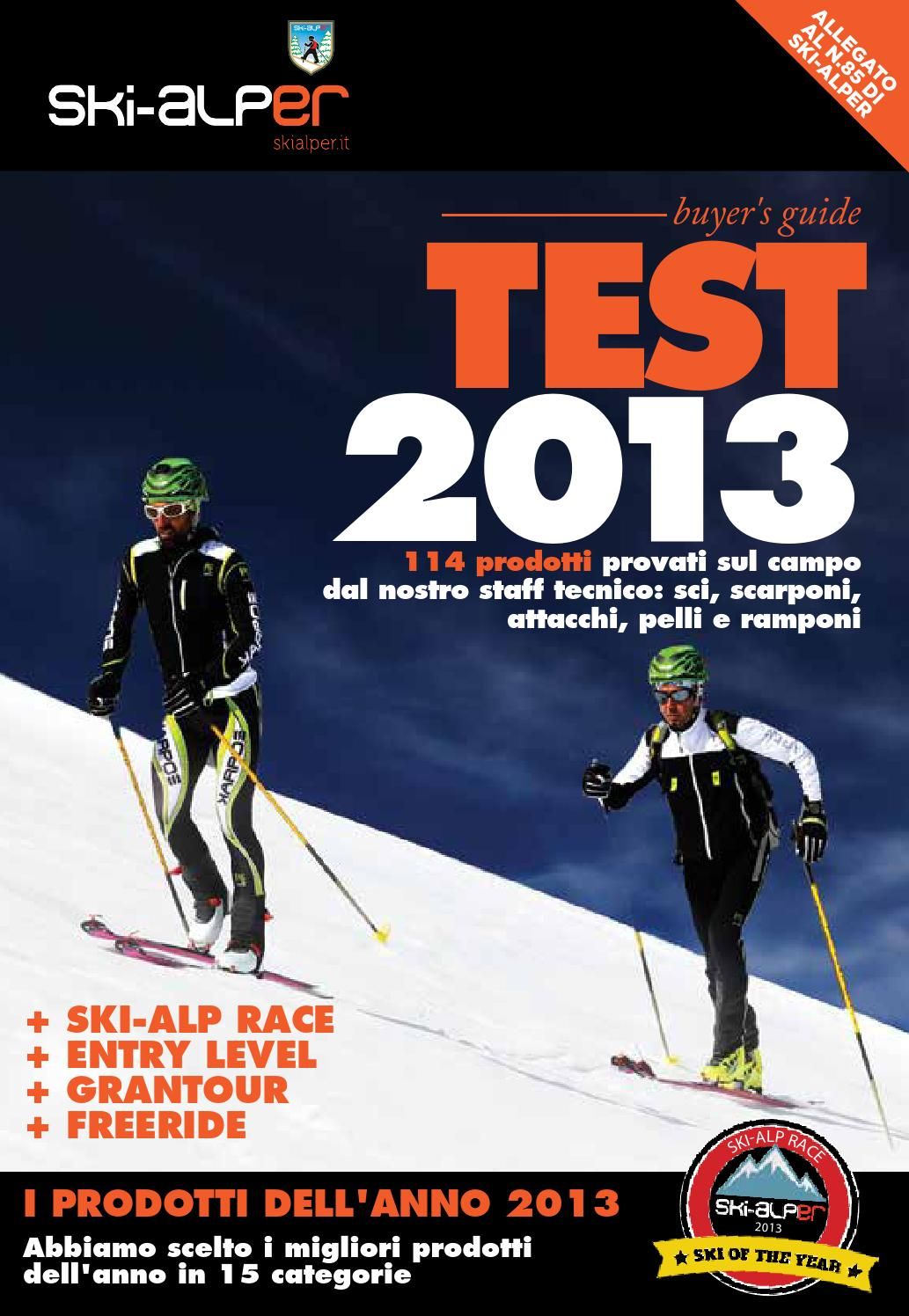 TEST 2013 - SKI-ALPER by Mulatero Editore - issuu 5b2e5ef11dd6