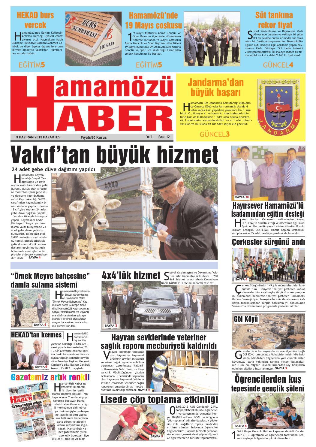 Gazete 12 By Halil Kartal Issuu