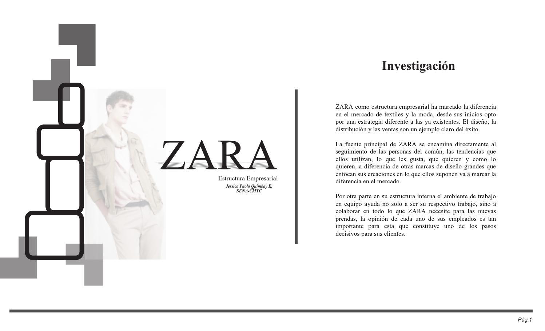 Zara By Jessica Paola Quimbay Espinel Issuu