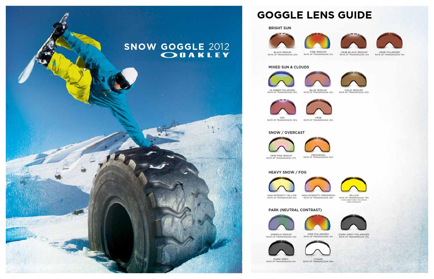 a118e949c5 12 oakley snow goggles by zuzupopo.snow - issuu